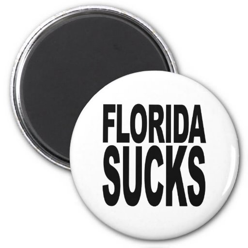 La Florida chupa Imán Redondo 5 Cm