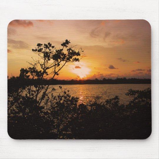 La Florida cierra puesta del sol Alfombrillas De Ratones