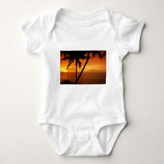La Florida cierra puesta del sol Body Para Bebé