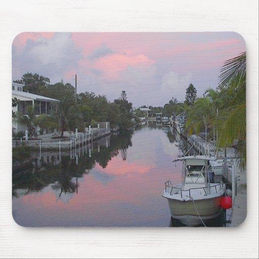 La Florida cierra puesta del sol del canal Alfombrillas De Raton
