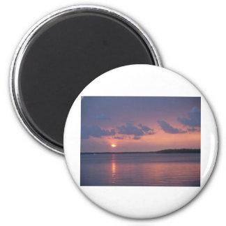 La Florida cierra puesta del sol Iman De Frigorífico
