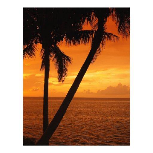 La Florida cierra puesta del sol Membrete