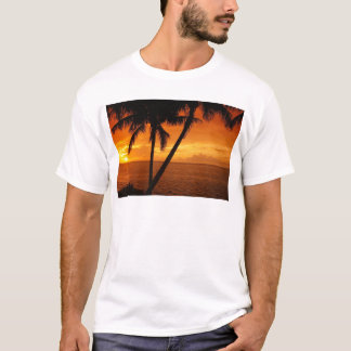 La Florida cierra puesta del sol Playera