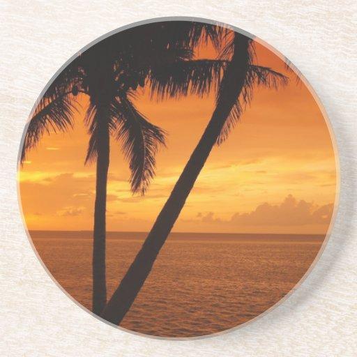 La Florida cierra puesta del sol Posavasos Manualidades
