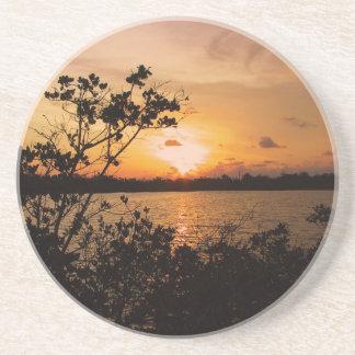 La Florida cierra puesta del sol Posavaso Para Bebida