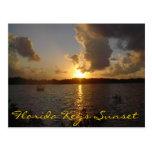 La Florida cierra puesta del sol Tarjetas Postales