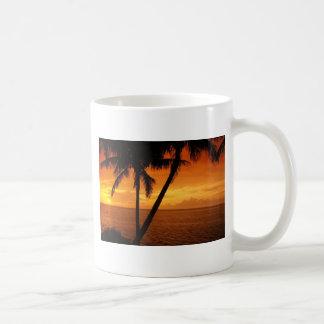 La Florida cierra puesta del sol Taza