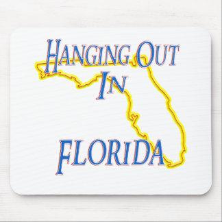 La Florida - colgando hacia fuera Alfombrilla De Ratón