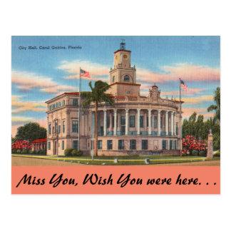 La Florida, Coral Gables, Palacio de Justicia Tarjetas Postales