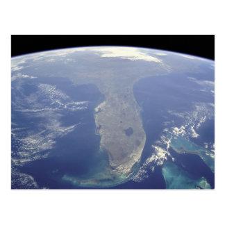 La Florida de la postal del espacio