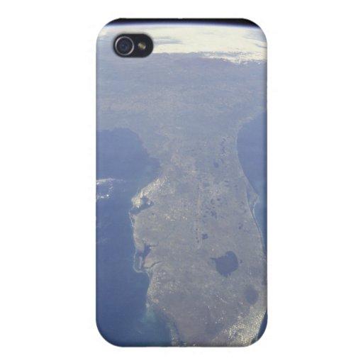 La Florida del caso del iPhone 4 del espacio iPhone 4 Carcasa