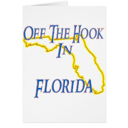 La Florida - del gancho Tarjeta De Felicitación