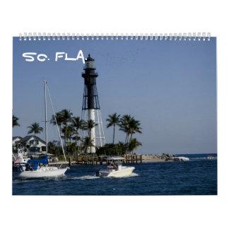 la Florida del sur Calendarios De Pared
