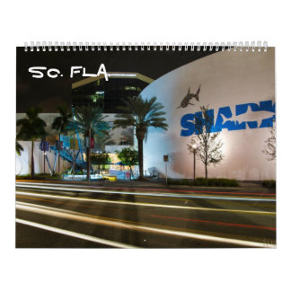la Florida del sur Calendario