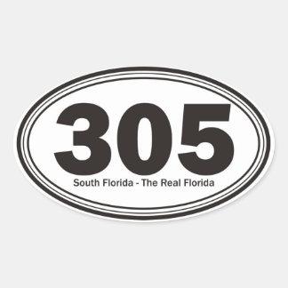 La Florida del sur Pegatinas De Ovaladas