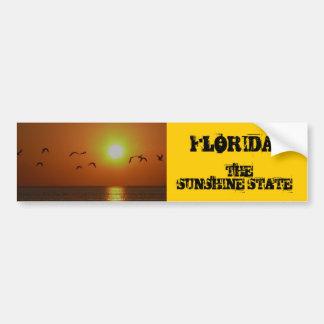 ¡LA FLORIDA! , El estado del sol, fling de los páj Pegatina Para Auto