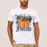 La Florida el estado del sol los E.E.U.U. Playera