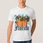 La Florida el estado del sol los E.E.U.U. Poleras