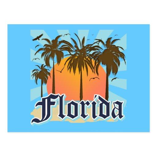 La Florida el estado del sol los E.E.U.U. Postales