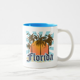 La Florida el estado del sol los E.E.U.U. Taza De Café