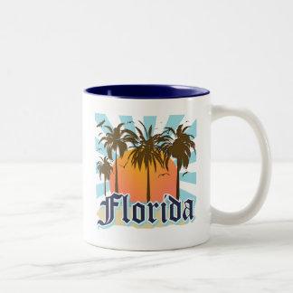 La Florida el estado del sol los E.E.U.U. Taza