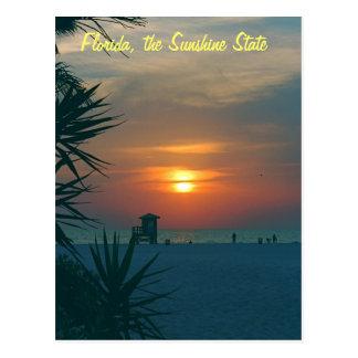 La Florida, el estado del sol Tarjetas Postales