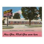 La Florida, el motel de Byer del La, Clewiston Postales