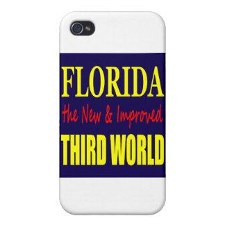 La Florida el TERCER mundo nuevo y mejorado iPhone 4/4S Carcasa