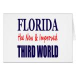 La Florida el TERCER mundo nuevo y mejorado Felicitacion