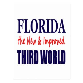 La Florida el TERCER mundo nuevo y mejorado Tarjetas Postales