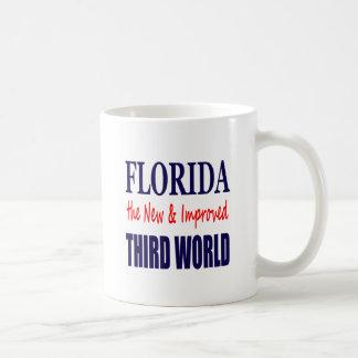 La Florida el TERCER mundo nuevo y mejorado Taza De Café