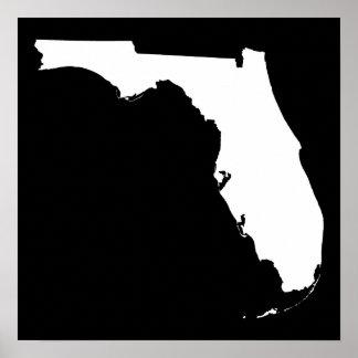 La Florida en blanco y negro Posters