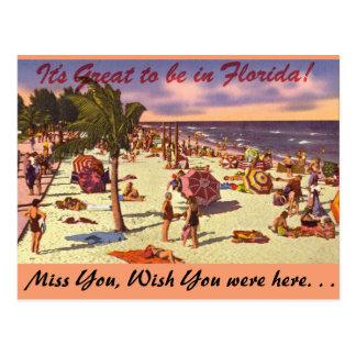 La Florida, es grande estar adentro Tarjeta Postal