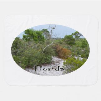 La Florida friega la tierra con el texto Manta De Bebé