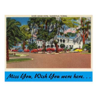La Florida, Gainesville, hotel de la Casa Blanca Postal
