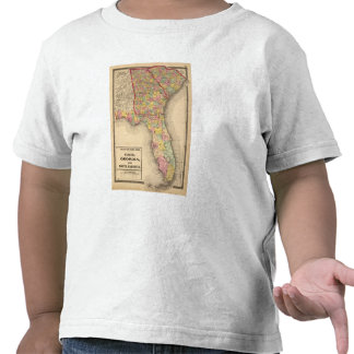 La Florida, Georgia, y Carolina del Sur Camiseta