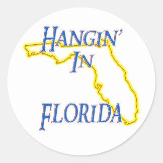 La Florida - Hangin Etiqueta Redonda