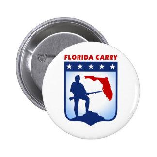 La Florida lleva el Pin Pin Redondo 5 Cm
