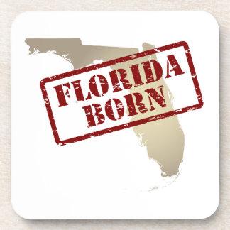 La Florida llevada - sello en mapa Posavasos De Bebidas