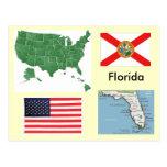 La Florida, los E.E.U.U. Postales