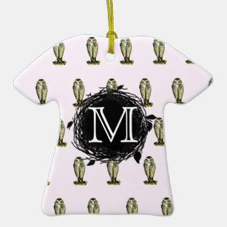 La Florida madriguera el modelo rosado del Adorno De Cerámica En Forma De Camiseta