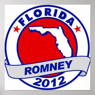La Florida Mitt Romney Poster