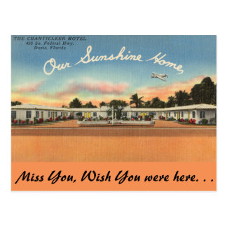 La Florida, motel del gallo, Dania Postal