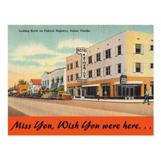 La Florida, N. Federal Highway, Dania Tarjetas Postales