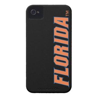 La Florida - naranja y azul iPhone 4 Case-Mate Cárcasa