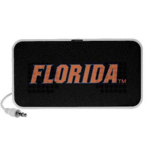 La Florida - naranja y azul iPod Altavoz