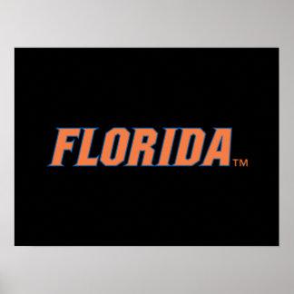 La Florida - naranja y azul Impresiones