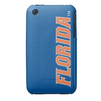 La Florida - naranja y blanco iPhone 3 Protector