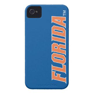 La Florida - naranja y blanco iPhone 4 Coberturas