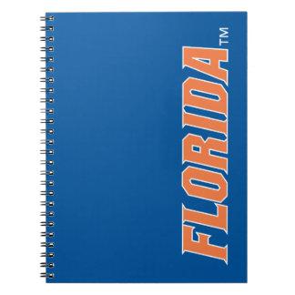 La Florida - naranja y blanco Libro De Apuntes
